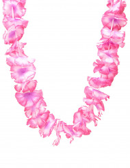 Colar havai cor de rosa