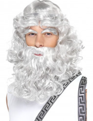 Peruca de Zeus homem