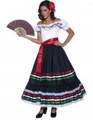 Disfarce bailarina espanhola para mulher