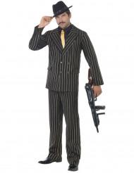 Disfarce gangster charleston homem