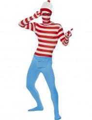 Disfarce segunda pele Onde está Wally?™ adulto