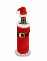 Gorro e casaco de Natal para garrafas