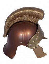 Capacete romano castanho adulto