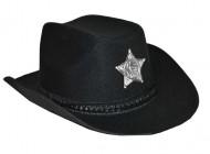Chapéu cowboy preto