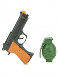 Kit pistola e granada