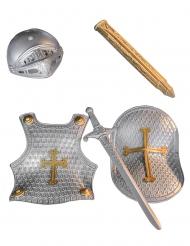 Kit de cavaleiro criança