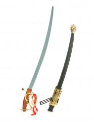 Espada de justiceiro de plástico