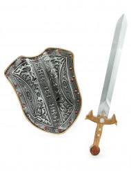 Kit de acessórios medievais criança