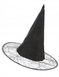 Chapéu de bruxa teia de arranha