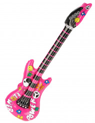 Guitarra insuflável