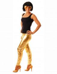 Legging dourado adulto