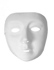 Máscara branca criança