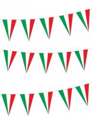 Grinalda bandeiras italianas