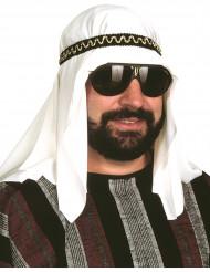 Turbante árabe com fita