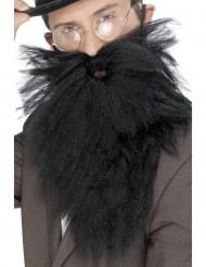 Barba comprida preta homem