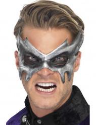Máscara fantasma cinzento adulto