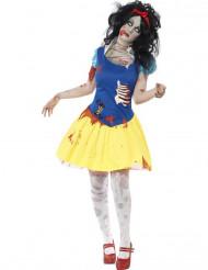 Disfarce zombi princesa conto de fadas mulher Halloween