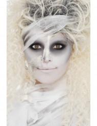 Kit de maquilhagem múmia para adulto Halloween