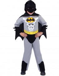 Disfarce Batman™ clássico prateado menino