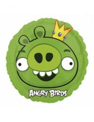 Balão alumínio Angry Birds™ verde