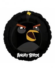 Balão alumínio Angry Birds™ preto