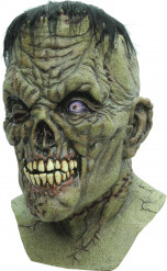 Máscara integral criatura Frankenstein zombie adulto Halloween
