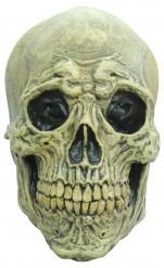 Máscara integral esqueleto assustador adulto Halloween