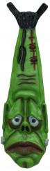 Gravata verde Frankenstein