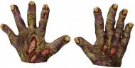 Mãos de zombie Halloween