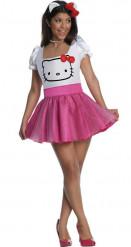 Disfarce Hello Kitty adulto