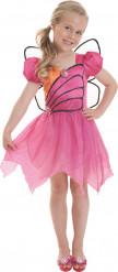 Disfarce Barbie™ Mariposa menina