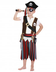 Disfarce completo de Pirata para menino