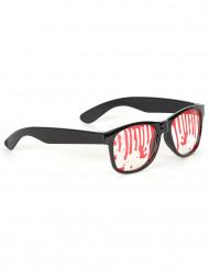 Óculos manchados de sangue !