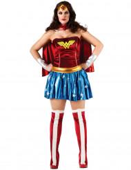 Disfarce Wonder Woman™ mulher tamanho grande
