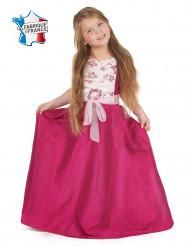 Disfarce vestido de baile luxo menina