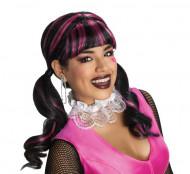 Peruca Draculaura Monster High™ mulher