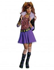 Disfarce Clawdeen Wolf Monster High™ menina