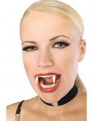Dentes de vampiro fosforescente