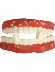 dentura vampiro em boracha