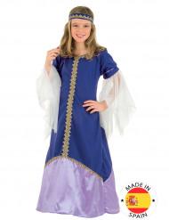 Disfarce Rainha Medieval rapariga