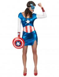 Disfarce Captain Girl sexy mulher