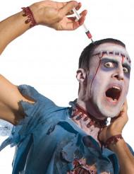 Fita para o cabelo seringa Halloween