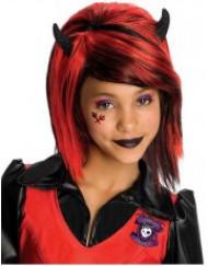 Peruca Gothic girl rapariga