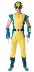 Disfarce deluxe Wolverine™ adulto