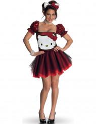 Disfarce Hello Kitty™ Vermelho adulto