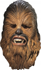 Máscara Chewbacca Star Wars™ luxo adulto