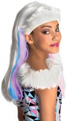 Peruca Abbey Bominable Monster High™ menina