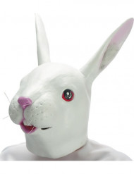 Máscara de coelho em latex adulto
