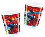8 Copos de plástico Spiderman™