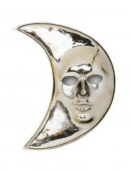 Máscara lua prateada adulto